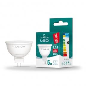 LED лампа TITANUM MR16 6W GU5.3 4100K