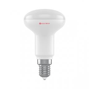 Лампа світлодіодна рефлекторна R50 LR-9 6W E14 3000K алюмопл. корп. A-LR-1905