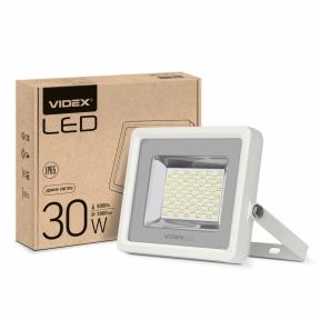 LED прожектор VIDEX PREMIUM 30W 5000K білий