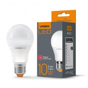 LED лампа VIDEX A60e 12V 10W E27 4100K