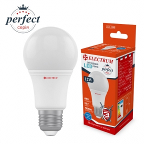 Лампа світлодіодна стандартна LS-32 12W E27 4000K алюмопл. корп. A-LS-1398