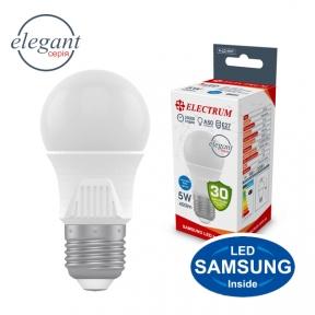 Лампа світлодіодна стандартна A50 LS-33 Elegant 5W E27 4000K алюмопл. корп. A-LD-1917