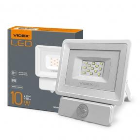 LED прожектор VIDEX 10W 5000K Сенсорний