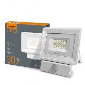 LED прожектор VIDEX 30W 5000K 220V (VL-Fe-305W-S) Сенсорний