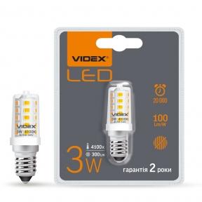 LED лампа VIDEX ST25e 3W E14 4100K
