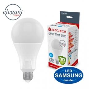 Лампа світлодіодна стандартна A95 LS-33 Elegant 23W E27 6500K алюмопл. корп. A-LS-1853