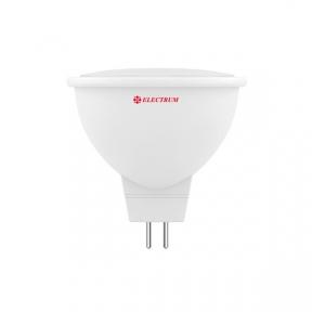Лампа світлодіодна MR-16 LR-10 5W GU5,3 3000K алюмопл. корп. A-LR-1432
