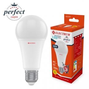 Лампа світлодіодна стандартна A67 LS-32 20W E27 3000K алюмопл. корп. A-LS-1371