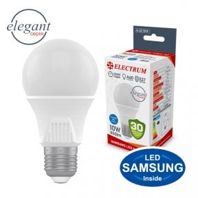 Лампа світлодіодна стандартна A60 LS-33 Elegant 10W E27 4000K алюмопл. корп. A-LS-1914