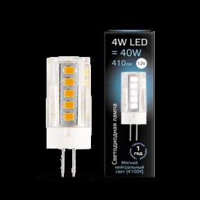 Лампа Gauss LED G4 12V 4W 4100K кераміка