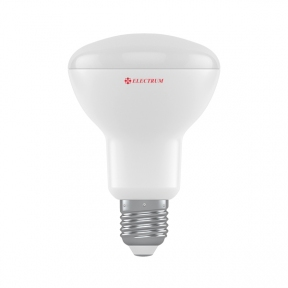Лампа світлодіодна рефлекторна R80 LR-32 10W E27 3000K алюмопл. корп. A-LR-1928
