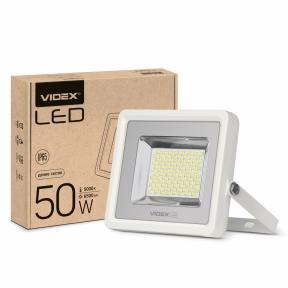 LED прожектор VIDEX PREMIUM 50W 5000K Білий