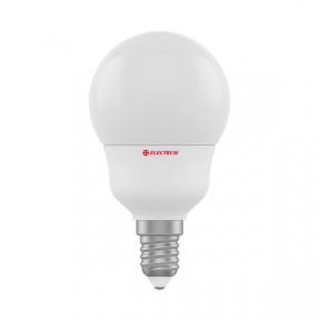 Лампа світлодіодна стандартна А50 LD-7 7W E14 3000K алюмопл. корп. A-LD-0686