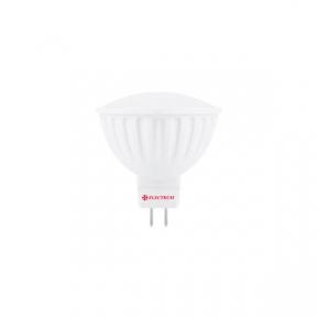 Лампа світлодіодна MR-16 LR-8 7W GU5,3 3000K алюмопл. корп. A-LR-1219