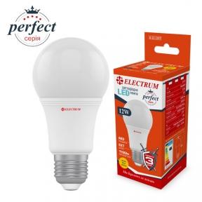 Лампа світлодіодна стандартна LS-32 12W E27 3000K алюмопл. корп. A-LS-1397(копия)