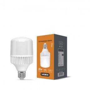 LED лампа VIDEX A65 20W E27 5000K 220V