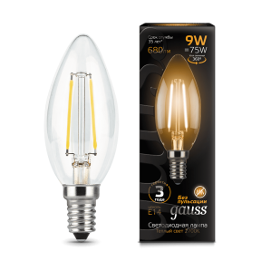 Лампа Gauss LED Filament Candle E14 11W 2700К 720lm