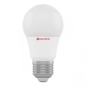 Лампа світлодіодна стандартна А50 LD-7 6W E27 3000K алюмопл. корп. A-LD-0437