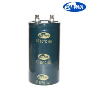 3300mkf - 450v  GT 76*120  SAMWHA (клеми з гвинтовим кріпленням) -25°C ~ + 85°C