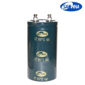 2200mkf - 450v GT 64*120  SAMWHA (клеми з гвинтовим кріпленням) -25°C ~ + 85°C