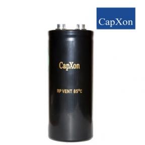 10000mkf - 400v   RP 76*160  Capxon (клеми з гвинтовим кріпленням) -25 ° C ~ + 85 ° C